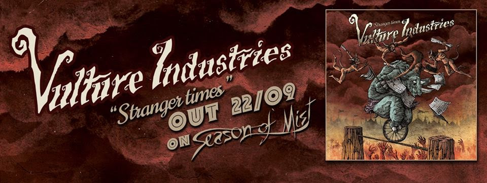 VULTURE INDUSTRIES album banner