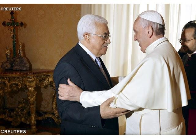 Papa Francisco recibió al Presidente del Estado de Palestina, Abu Mazen