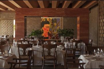 Mexican cuisine Restaurante Frida at Grand Velas Riviera Maya.