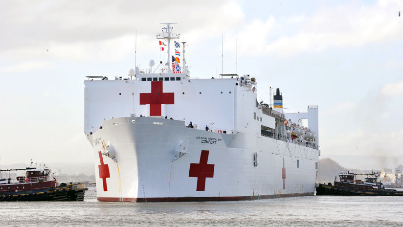 Conozca el verdadero objetivo del buque hospital del Comando Sur en Latinoamérica