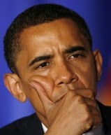 President Obama contemplates
