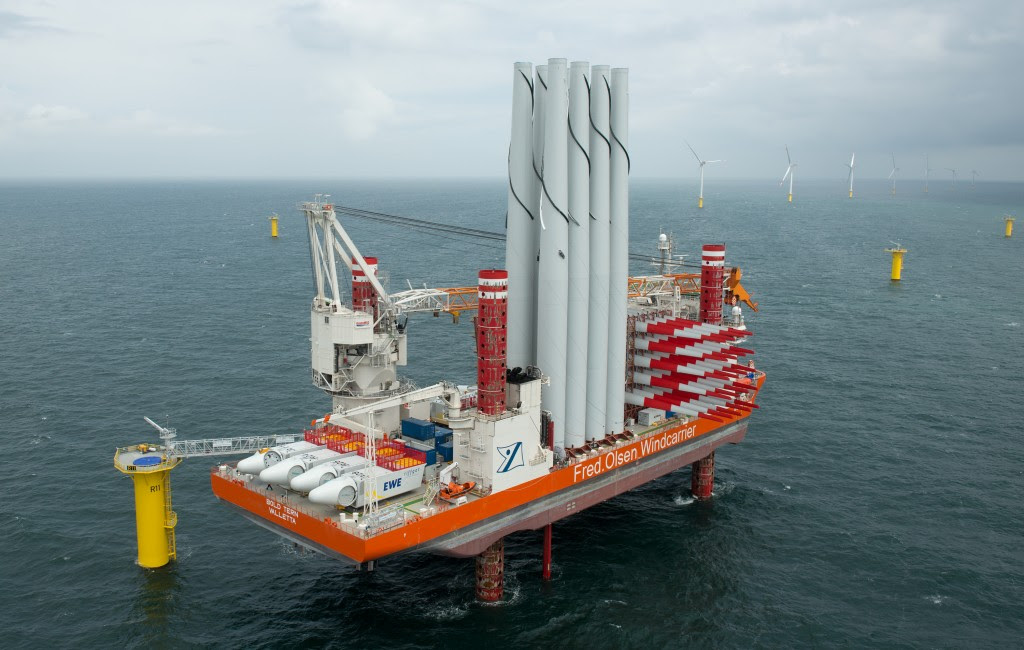 Riffgat Offshore Wind Farm Nears Completion