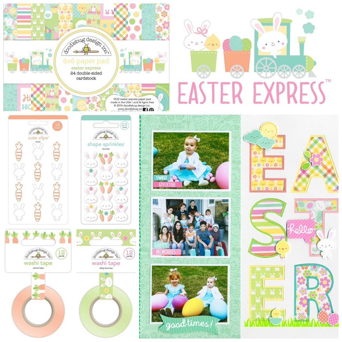 PicMonkey Collage easter express