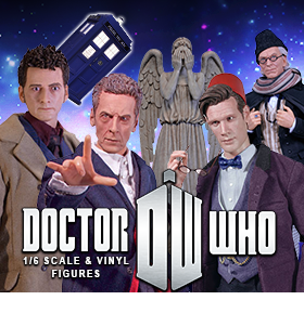 DOCTOR WHO 1/6 FIGURES