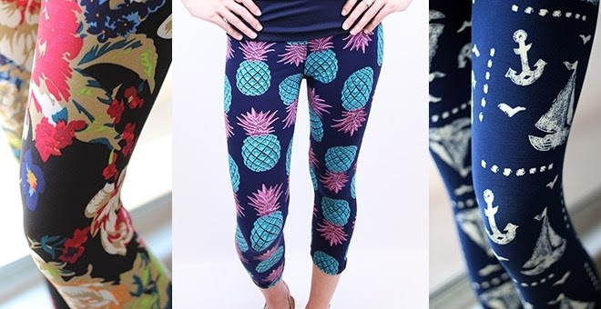 HOT!! Ultra Soft Print Capri L...