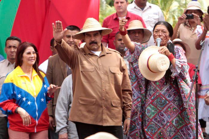 Presidente Maduro se reunió con campesinos y movimientos sociales a favor de la paz y la vida