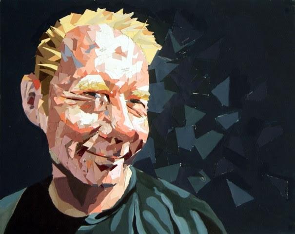 Portrait of Sean Solley by Luisa Solley