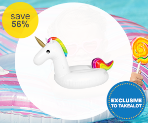 Kalabazoo Unicorn  Pool Inflatable