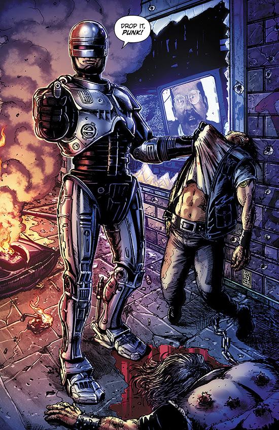 RoboCop #1 - SDCC