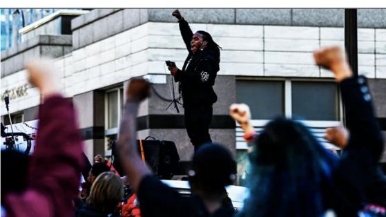 BLM/ANTIFA Shut Down Minneapolis in Derek Chauvin Trial Jury Intimidation Image-210