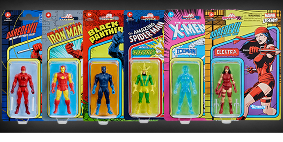 Marvel Legends Retro Collection Wave 2