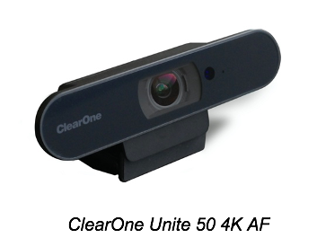 """ClearOne Enhances """"The New Normal"""" Hybrid Work and Learning Environment  with New Entry-Level and High-End Cameras 