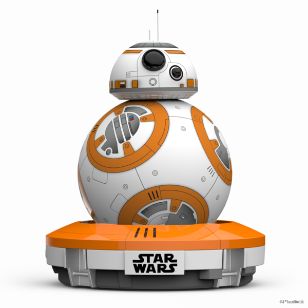 "BB-8™ by Sphero, ""the app-enabled Droid™ that's as authentic as it is advanced""<br>Image: Courtesy Sphero"