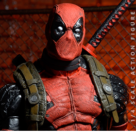 1/4 SCALE DEADPOOL ACTION FIGURE