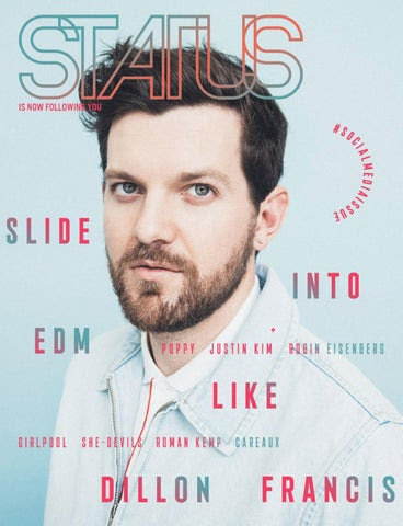 STATUS Magazine May 2017 feat. Dillon Francis cover