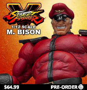 STREET FIGHTER V 1/12 SCALE M. BISON FIGURE