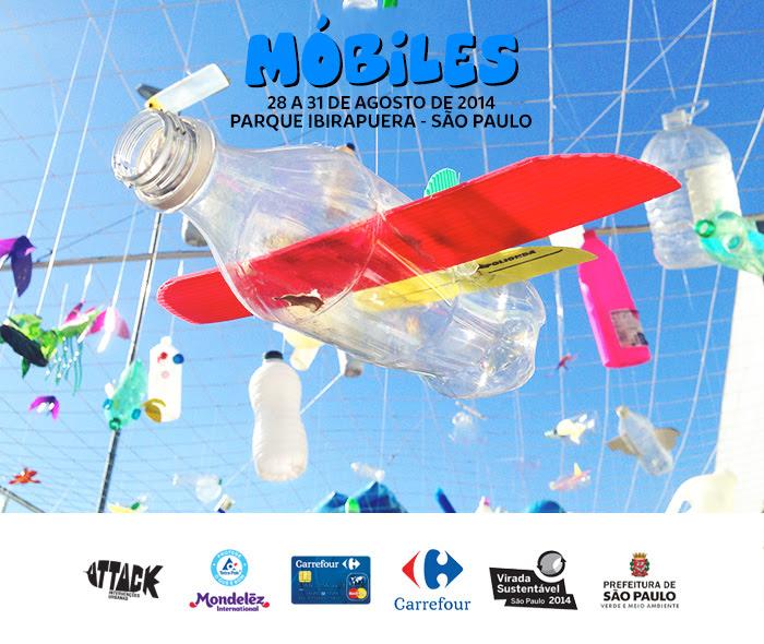 Exposição Móbiles na Virada Sustentável