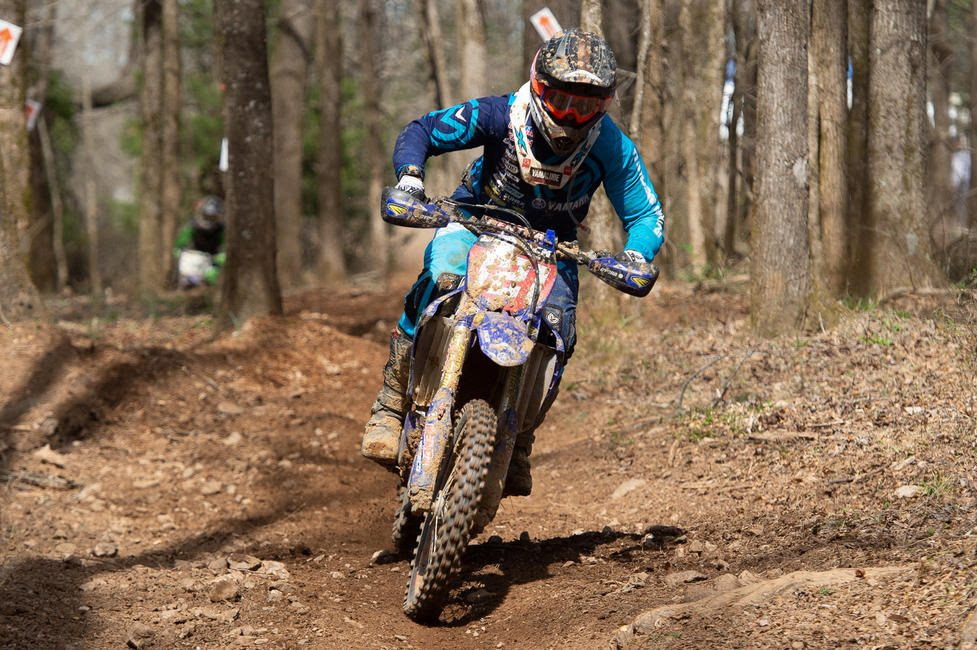 Cory Buttrick returned to the GNCC Series as AmPro Yamaha's fill-in rider, placing ninth in the XC1 Open Pro class.