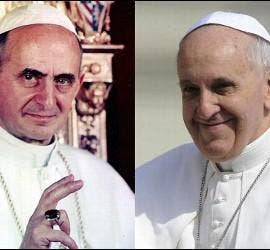 Pablo VI/Papa Francisco