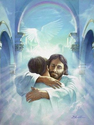 picture of jesus welcoming us into heaven | ... wonderful way to ...