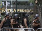 Polícia afirma que não ocorreram ocorrências graves em Curitiba GUILHERME ARTIGAS/FOTOARENA/ESTADÃO CONTEÚDO