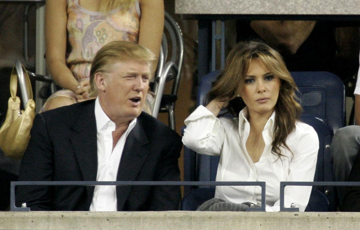 Melania Knauss-Trump, September 2005