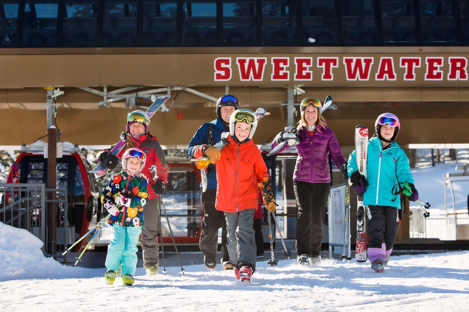 crianças esquiam grátis jackson hole