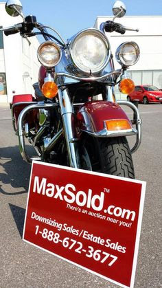 Harley Davidson Road King Motorcycle sold for $6600 on a MaxSold online warehouse sale in Kingston