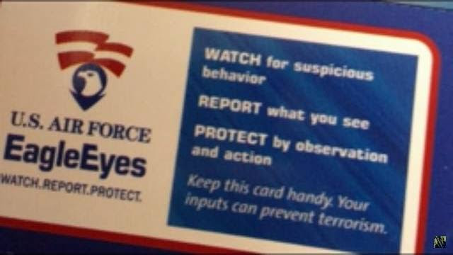 Dahboo77 Video: National Guard Going Door to Door in Illinois with 'Eagle Eye' Cards