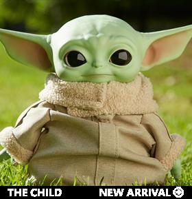The Mandalorian The Child Plush