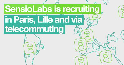 SensioLabs is recruiting via telecommuting