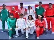 El Comité Olímpico Mexicano presentó los uniformes que usarán sus atletas durante los Juegos Panamericanos Lima 2019.