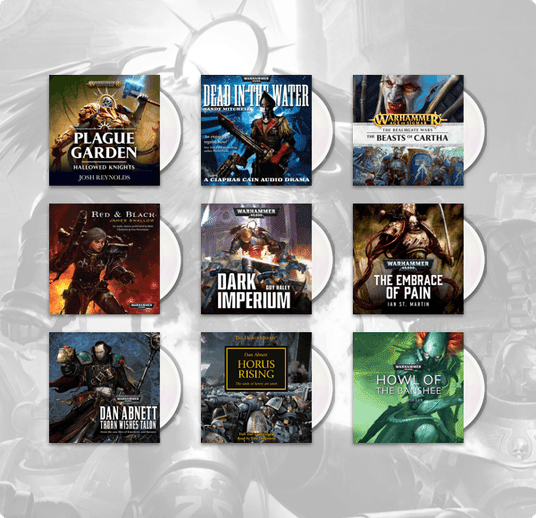 Humble Audiobook Bundle: Voices from the Worlds of Warhammer