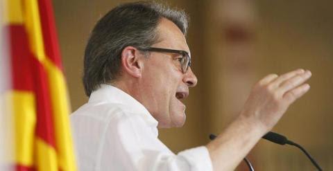 El presidente de la Generalitat , Artur Mas. / EFE