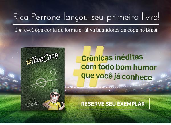 RICA PERRONE LANÇOU SEU PRIMEIRO LIVRO