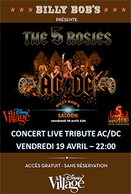 Concert Disney Village - 19 Avril 2019