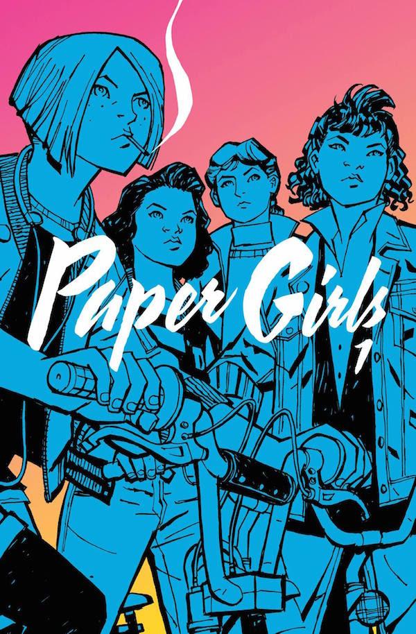 Le prime 44 pagine di Paper Girl di Vaughan/Chiang