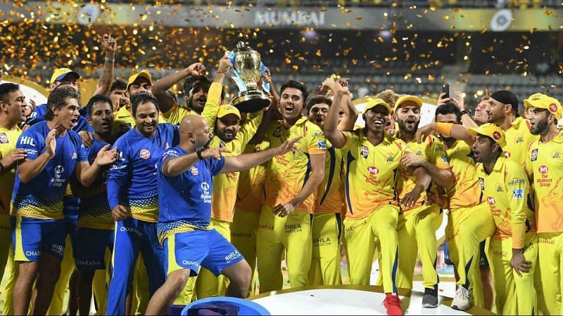 Chennai Super Kings have lifted the IPL trophy for a total of three times