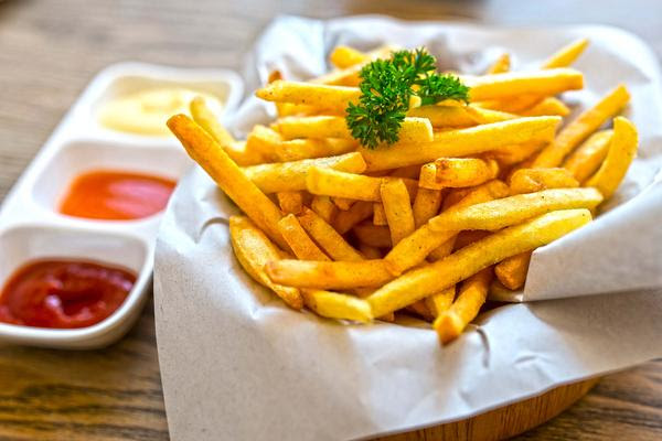 Tradicionais e deliciosas fritas