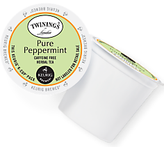 Twinings Pure Peppermint Keurig Kcup coffee