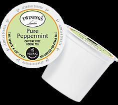 Twinings Pure Peppermint Keurig Kcup coffee