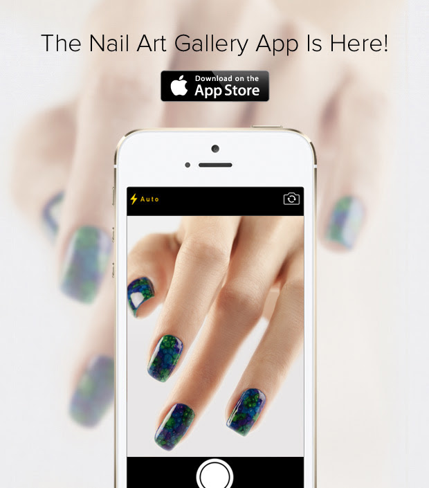 Nail Art Gallery App Screenshot