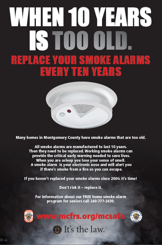 photo with smoke alarm