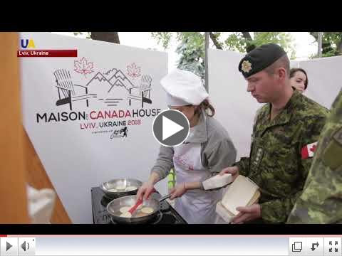 For a report from UATV on Canada Day celebrations held in Lviv on July 1, please click on image above