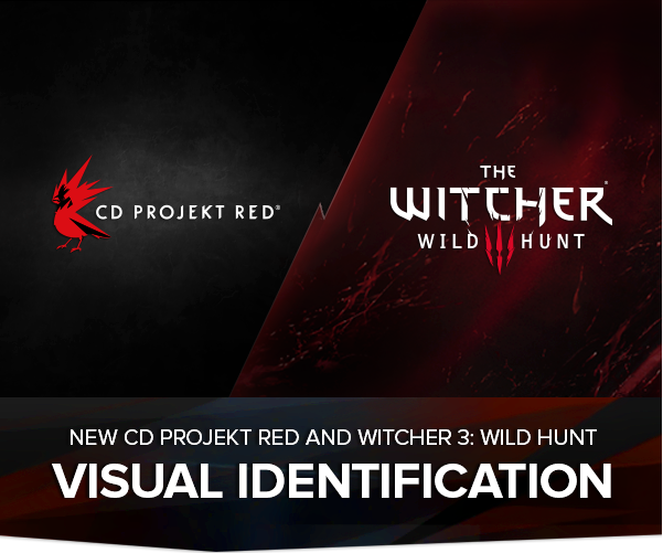 CD Projekt RED and Witcher 3 New Visual Identification Unveiled