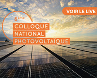 6ème Colloque national photovoltaïque