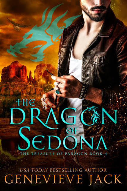 The Dragon of Sedona, Genevieve Jack, paranormal romance, dragon shifters