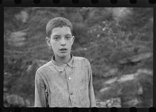 Coal miner's child, Omar, West Virginia