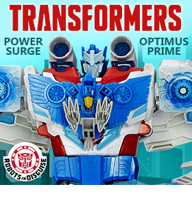 TF RID POWER SURGE OPTIMUS PRIME
