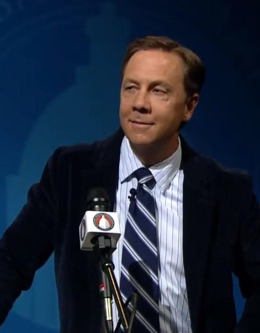 Kael Weston at the Utah 2nd District Debate